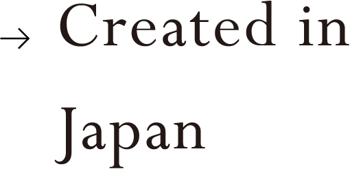 Created in Japan